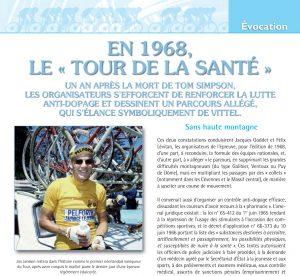 Retour des équipes nationales, parcours allégé, le Tour68 veut préserver la santé des coureurs.