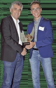 Benoît Cosnefroy, leuréat 2017 du Trophée Vélo Star de demain.