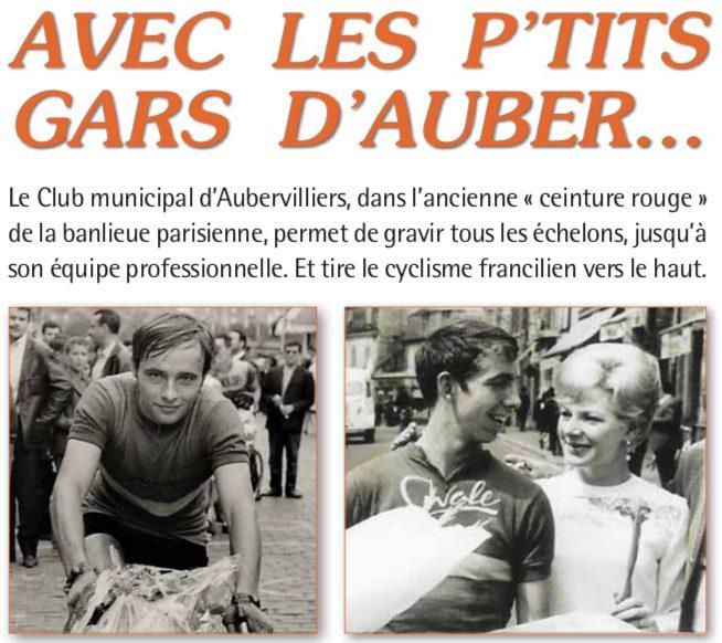 La tournée des clubs cyclistes fait étape à Aubervilliers.