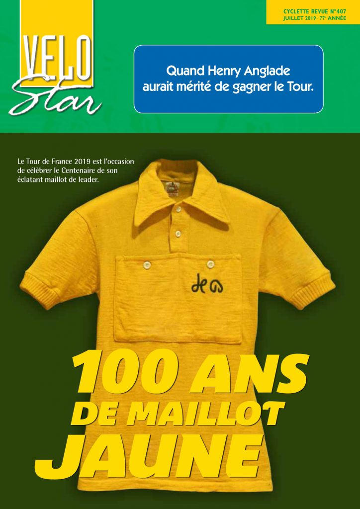 Créé en 1919, le maillot jaune reste la plus convoitée de toutes les distinctions cyclistes.