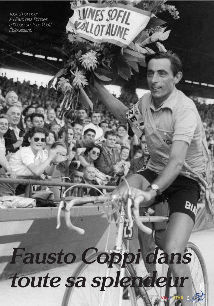 Le campionissimo Fausto Coppi a propulsé le cyclisme dans une autre dimension.