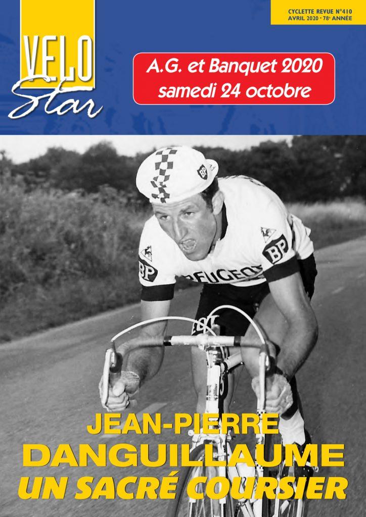 Une garnde interview sde Jean-Pierre Danguillaume dans le numéro 410 de Vélo Star.